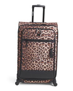 28in Kool Kat Leopard Soft Case Spinner