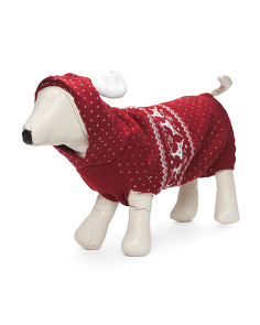 Dancing Reindeer Dog Sweater