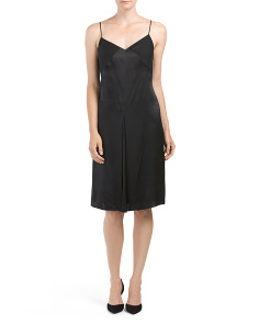 Made In USA Silk Evelyn Dress