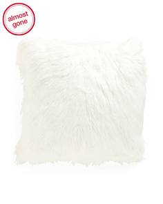 26x26 Oversized Faux Fur Pillow