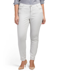 Plus Lexington Skinny Twill Pants