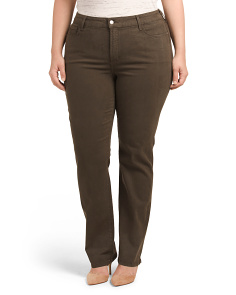 Plus Made In USA Marilyn Straight Pant