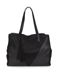 Tote With Tassel