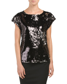 Juniors Conor Sequined Top