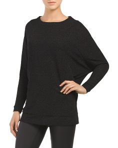 Juniors Robin Lurex Tunic Sweater