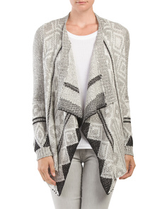 Juniors Open Flyaway Cardigan