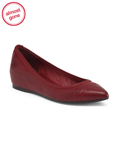 Leather Ballet Flat
