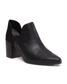 Side Cut Out Low Bootie