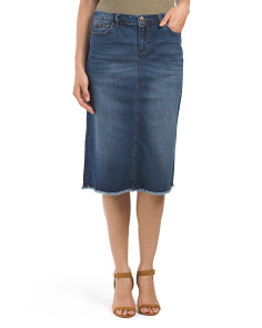 Easy Denim Skirt