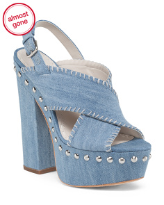 Giana Denim Sandal
