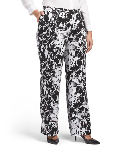 Plus Wide Leg Pants