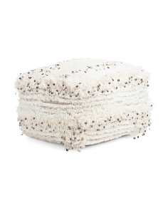Made In India Moroccan Wedding Pouf