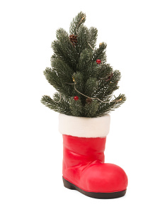 LED Christmas Tree Boot