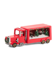 LED Musical Christmas Truck