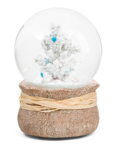 Musical Windup Snow Globe