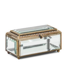 3x6 Glass Jewelry Box