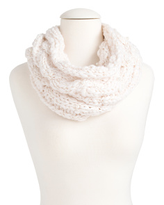 Chunky Knit Pearl Snood