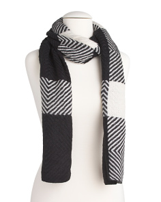 Two Tone Wide Scarf