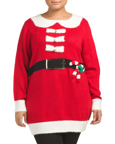 Plus Jolly Santa Christmas Tunic