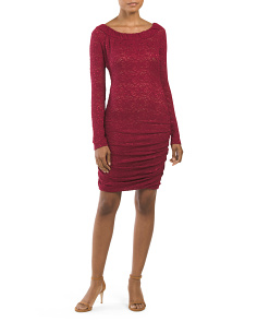 Halle Knit Cocktail Dress