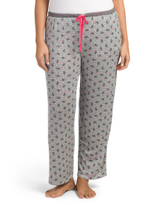 Plus Elephant Hearts Sleep Pants