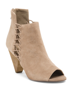 Emera Suede Booties