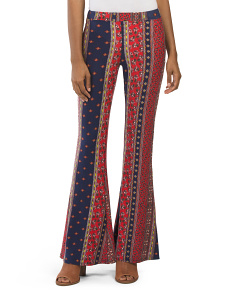 Juniors Made In Usa Printed Pants