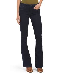 Juniors Denim Rinse Flare Jean