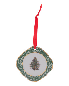 Embossed Tree Ornament