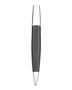 Cosmos Black Steel Ballpoint Pen