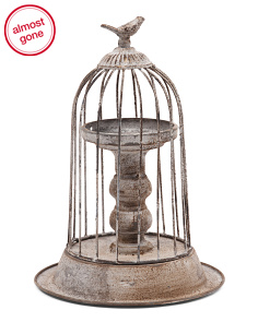 Decorative Bird Cage Stand