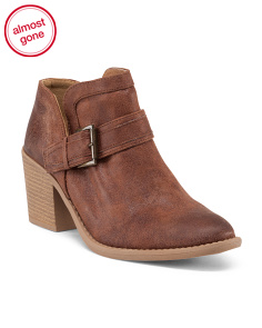 Tobin Low Buckle Booties