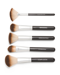 Complete Complexion Kit With 5 Brushes