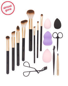 Brush And Grooming Set With Sponges