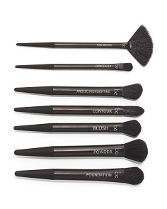 7pc Complete Face Brush Collection