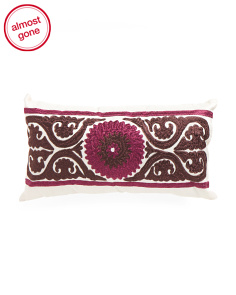 Made In India 11x21 Medallion Pillow