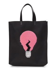 Made In Italy Lightbulb Tote