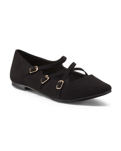 Alison Pointy Toe Ballet Flats