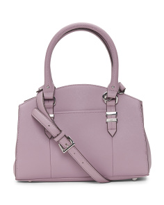 Carryall Leather Satchel