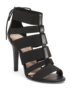 Dream Team Strappy Peep Toe Heels