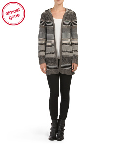 Juniors Long Sleeve Cardigan