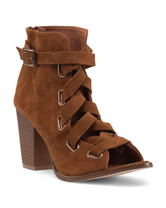 Brie Strappy Ankle Booties