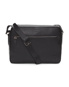 Made In Italy Capa Leather Messenger