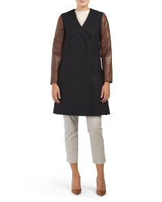 Quennel Compact Wool Blend Coat