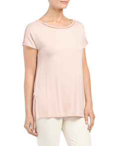 Dolman Sleeve Hi Lo Top