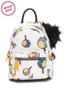 Lolipop Printed Backpack