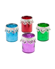 Set Of 4 Candle Holders