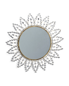 Bling Flower Mirror