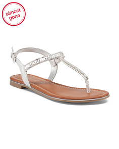 Slingback Thong Jewel Sandals