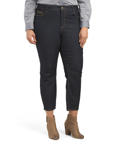 Plus Made In Usa Clarissa Skinny Ankle Jeans